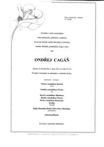 Ondřej Cagáň